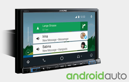 Works with Android Auto - X802DC-U