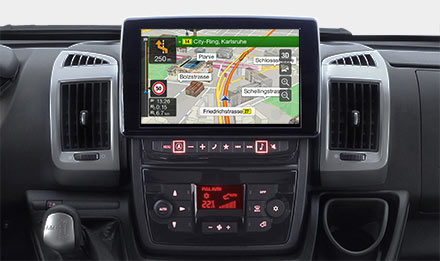 Ducato, Jumper and Boxer - Adjustable button and display colours