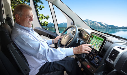 Ducato, Jumper and Boxer - Easy to reach from the driver's seat - X903D-DU