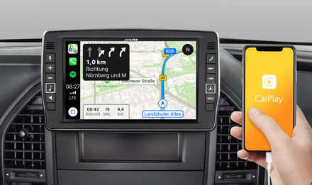 Online Navigation with Apple CarPlay - X902D-V447