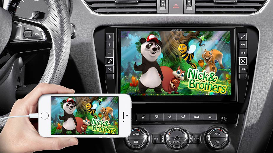 Skoda Octavia 3 - Big Screen Entertainment - X903D-OC3