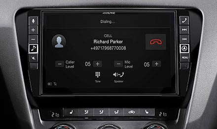 Skoda Octavia 3 - Built-in Bluetooth® Technology - X903D-OC3