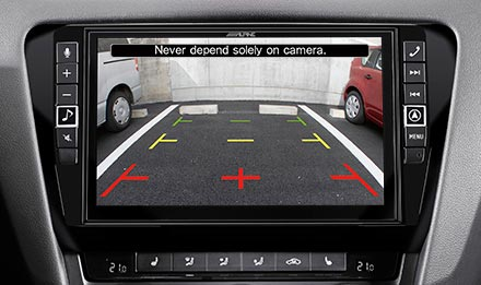 Skoda Octavia 3 - Rear View Camera - X903D-OC3