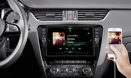 Skoda Octavia 3 - Connect Your Smartphone - X903D-OC3