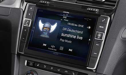 digitales radio im auto