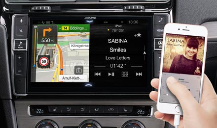 Golf 7 - Navigation - One Look Display  - X902D-G7