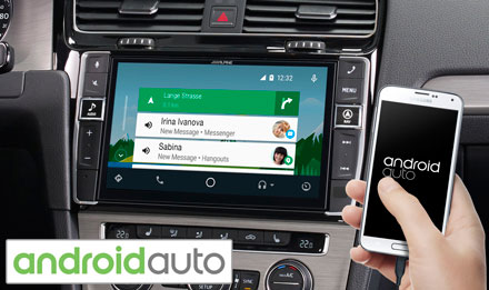 Golf 7 - Works with Android Auto - i902D-G7
